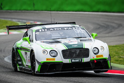 #7 Bentley Team M-Sport, Bentley Continental GT3: Steven Kane, Guy Smith, Vincent Abril
