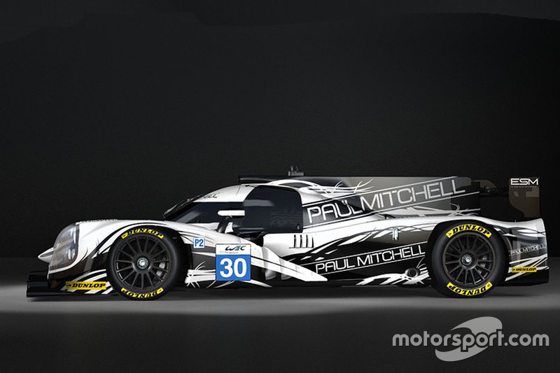 Extreme Speed Motorsport, Farbdesign von Paul Mitchell