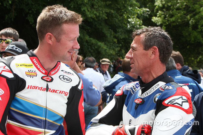 Gordon Sheddon and Troy Corser