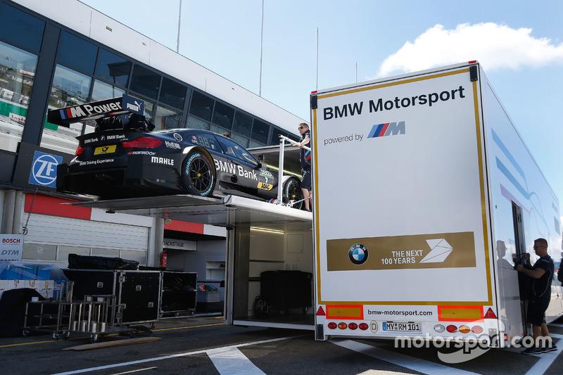 The car of Bruno Spengler, BMW Team MTEK, BMW M4 DTM