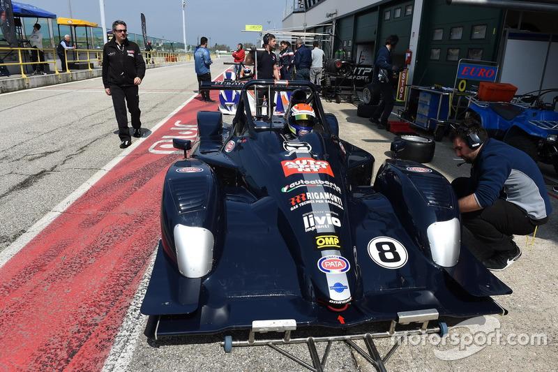 Davide Uboldi, Ligier JS Evo 2 E CN2 #8, Eurointernational