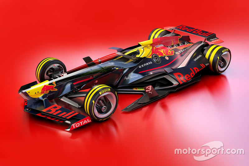 Designstudie: Red Bull Racing 2030