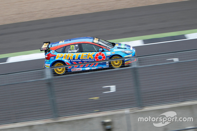 #77 Andrew Jordan, Motorbase Performance, Ford Focus