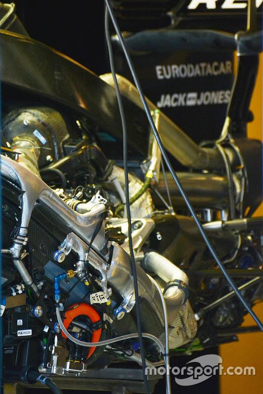 Renault Sport F1 Team, dettaglio del motore