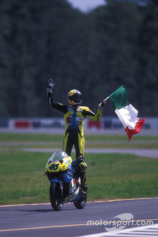 El ganador, Valentino Rossi