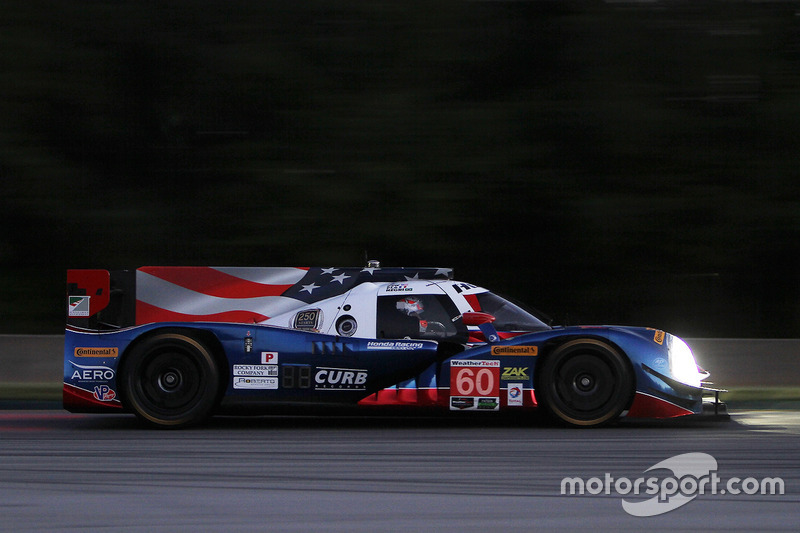 #60 Michael Shank Racing with Curb/Agajanian, Ligier JS P2 Honda: John Pew, Oswaldo Negri, Olivier P