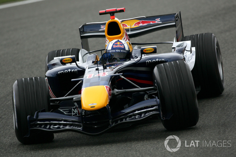 2006: Red-Bull-Ferrari RB2