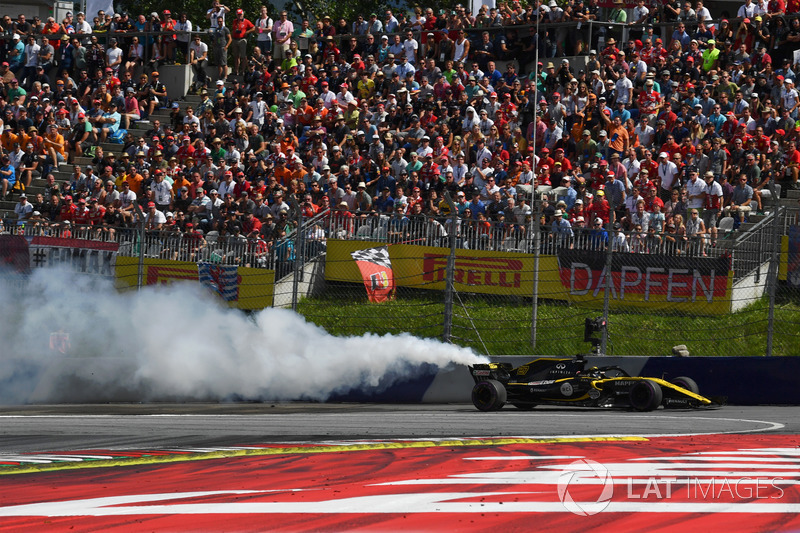 Nico Hulkenberg, Renault Sport F1 Team R.S. 18 abandonne sur casse moteur