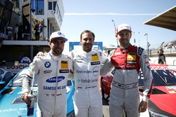 Top 3 Qualifiche: Pole position per Gary Paffett, Mercedes-AMG Team HWA, Philipp Eng, BMW Team RBM, René Rast, Audi Sport Team Rosberg