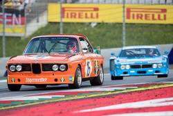 Niki Lauda, BMW 3.0 CSL y Hans Heyer, Lancia Corse