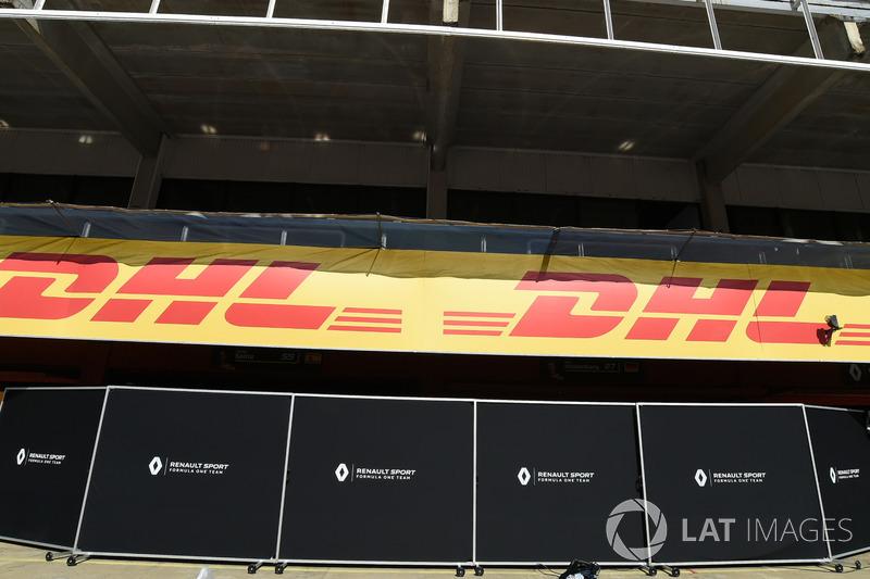 Pantallas de garaje Renault Sport F1 Team