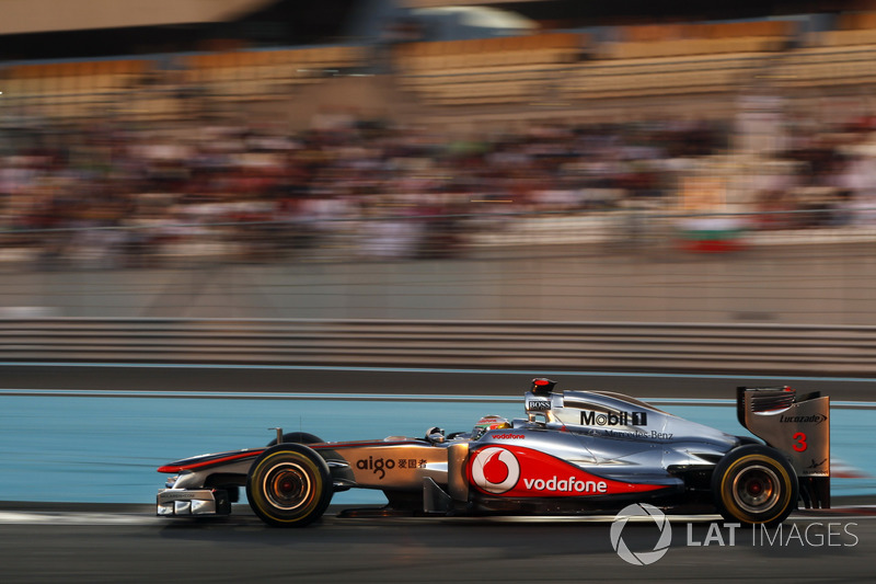 2011: Lewis Hamilton, McLaren MP4-26