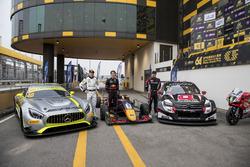 I vincitori del weekend: Edoardo Mortara, Mercedes-AMG Team Driving Academy, Mercedes - AMG GT3, Dan