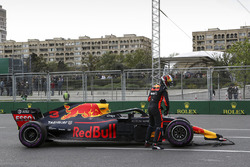 Race retiree Max Verstappen, Red Bull Racing RB14