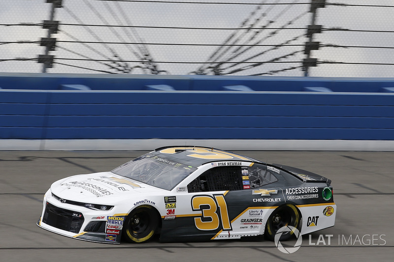 9. Ryan Newman, No. 31 Richard Childress Racing Chevrolet Camaro