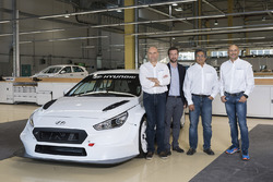 Customer teams take delivery of the Hyundai i30 N TCR