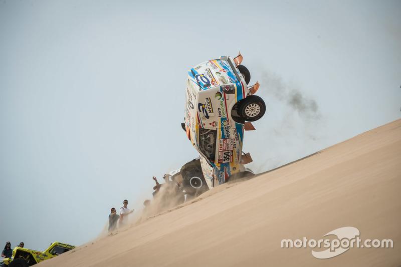 Cristina Guitierrez accidente Dakar