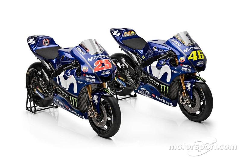 Bikes of Valentino Rossi, Yamaha Factory Racing, Maverick Viñales, Yamaha Factory Racing