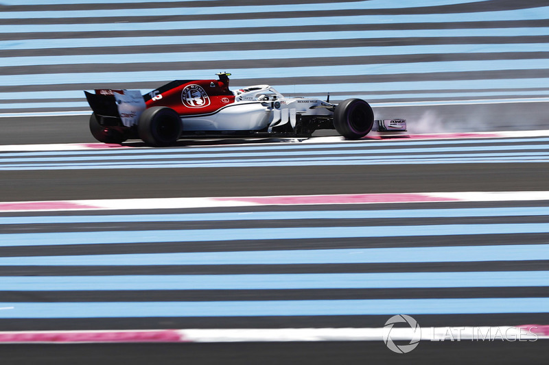 Charles Leclerc, Sauber C37, testacoda