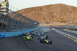 Start: Sébastien Bourdais, Dale Coyne Racing with Vasser-Sullivan Honda