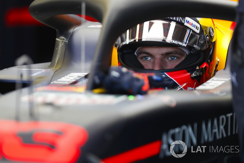 Max Verstappen, Red Bull Racing, in cockpit