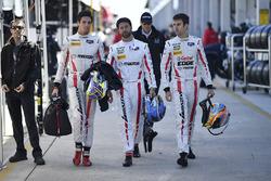 Jonathan Bomarito, Joel Miller, Tristan Nunez, Mazda Motorsports