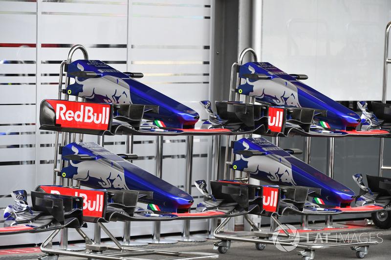 Scuderia Toro Rosso STR12: Frontflügel