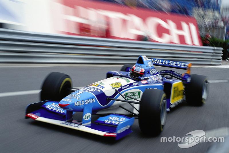 Michael Schumacher, Benetton Renault, Monaco 1995