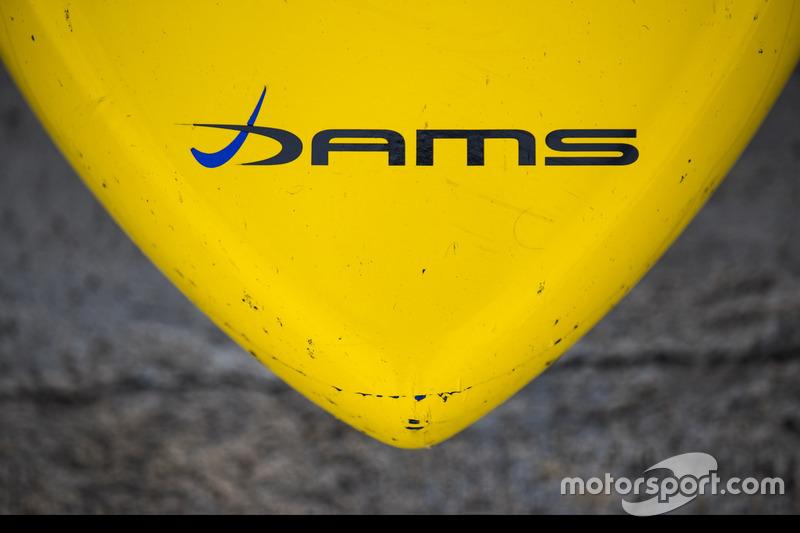 DAMS logo on nose cone