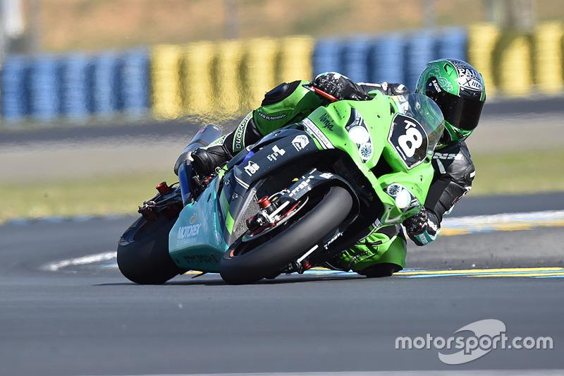 #8 Kawasaki: Michael Savary, Horst Saiger, Roman Stamm