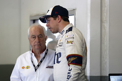 Roger Penske, Owner Team Penske and Brad Keselowski, Team Penske Ford
