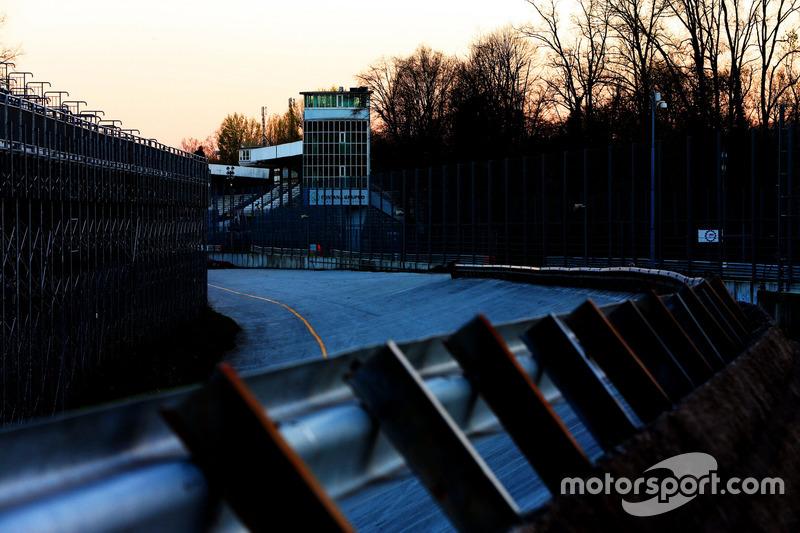 Steilkurve in Monza