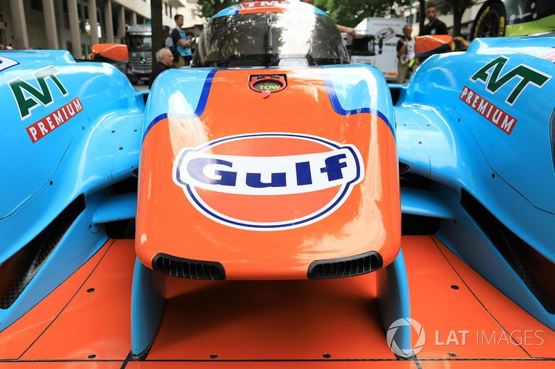 Автомобиль Ligier JS P217 Gibson команды Tockwith Motorsports