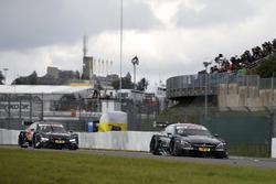 Robert Wickens, Mercedes-AMG Team HWA, Mercedes-AMG C63 DTM, Marco Wittmann, BMW Team RMG, BMW M4 DTM