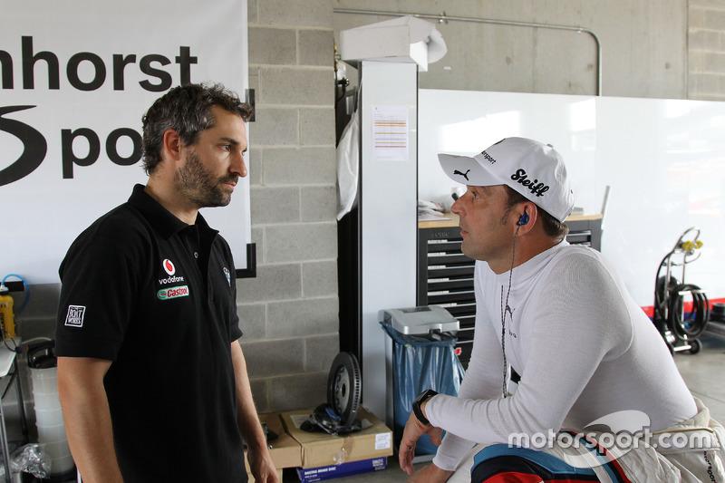 Timo Glock, BMW Tean SRM and Jörg Müller, Walkenhort Motorsport