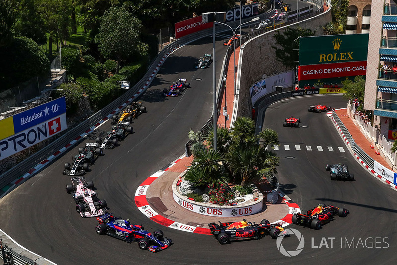 Renn-Action beim GP Monaco 2017