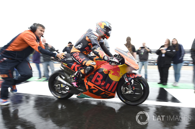 Bradley Smith, Red Bull KTM Factory Racing, British MotoGP race 2018