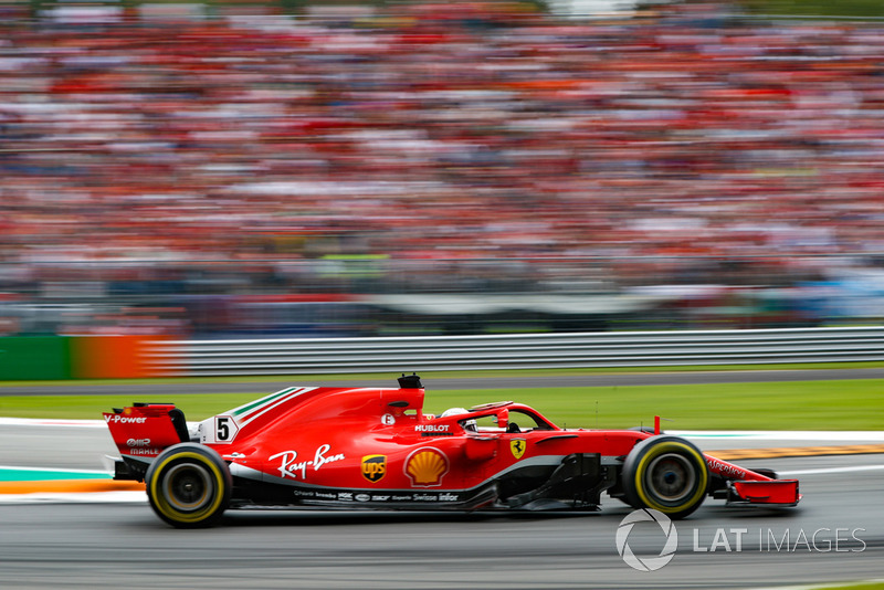 Vettel was disappointed after qualifying only second
