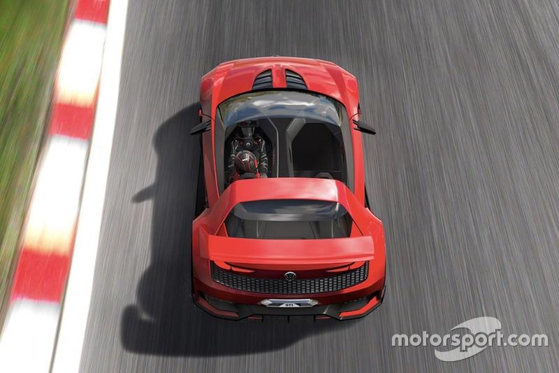 Volkswagen GTI Roadster Vision Gran Turismo (junio 2014)
