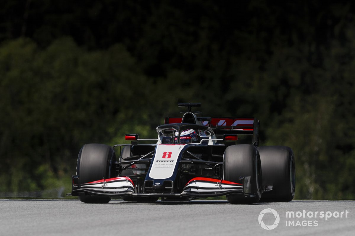 P19 Romain Grosjean, Haas VF-20