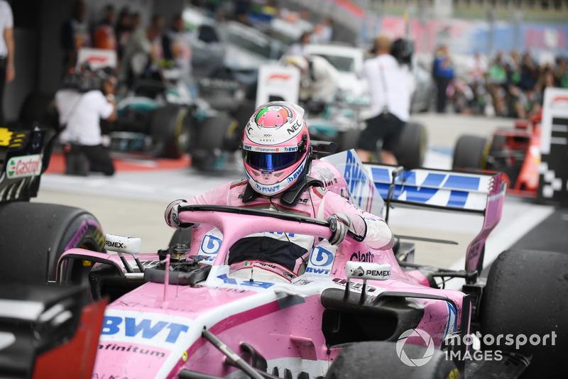 10e : Sergio Pérez (Racing Point Force India)