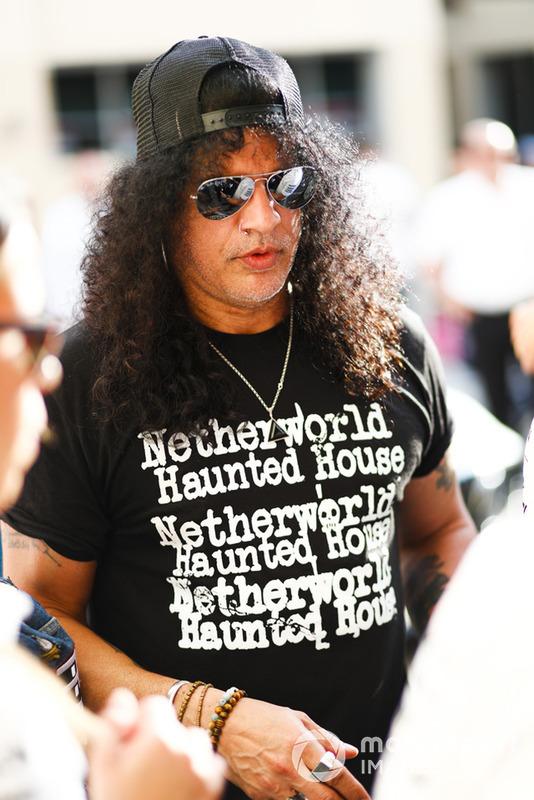 Il chitarrista dei Guns and Roses, Slash