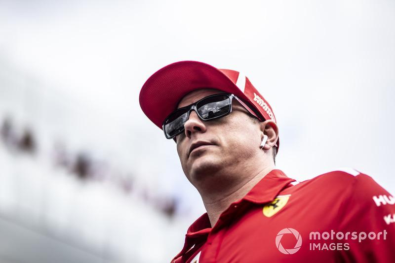3 місце — Кімі Райкконен, Ferrari — 263