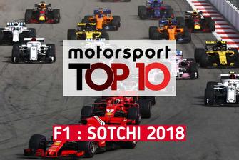 Top 10 du GP de Russie