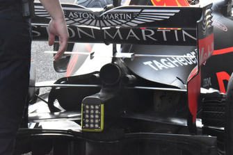 Заднє антикрило Red Bull Racing RB14
