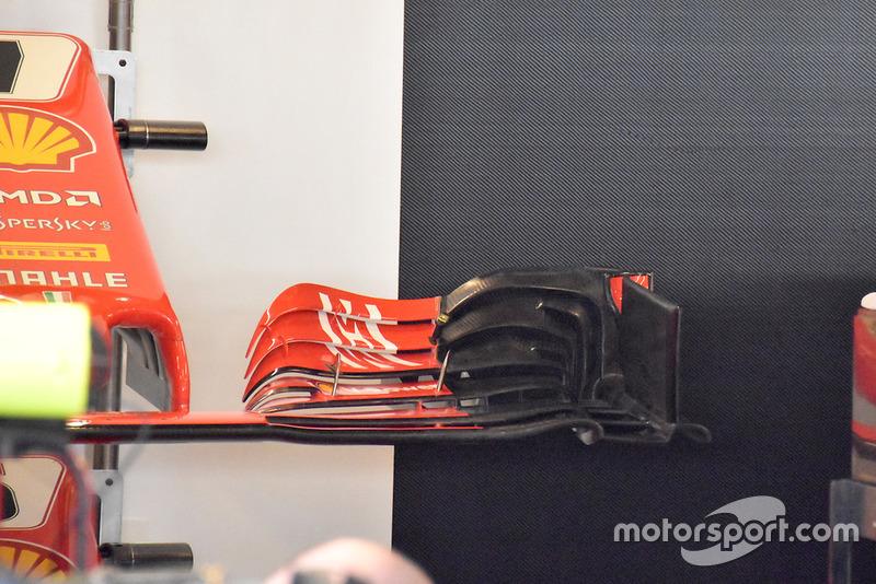 Переднее крыло Ferrari SF71H