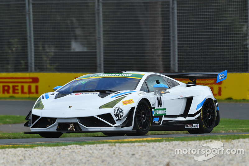 #14 Lamborghini R-EX: Peter Major