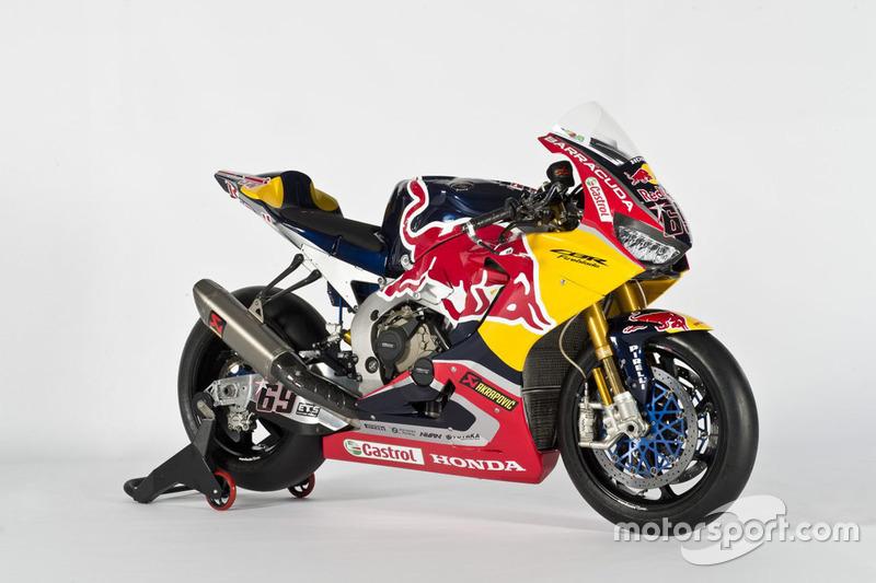 Moto de Nicky Hayden, Honda World Superbike Team