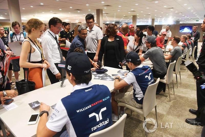 Lance Stroll, Williams, Felipe Massa, Williams