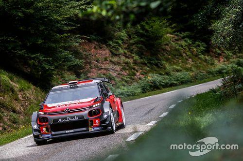 Test Citroën avec Sébastien Loeb
